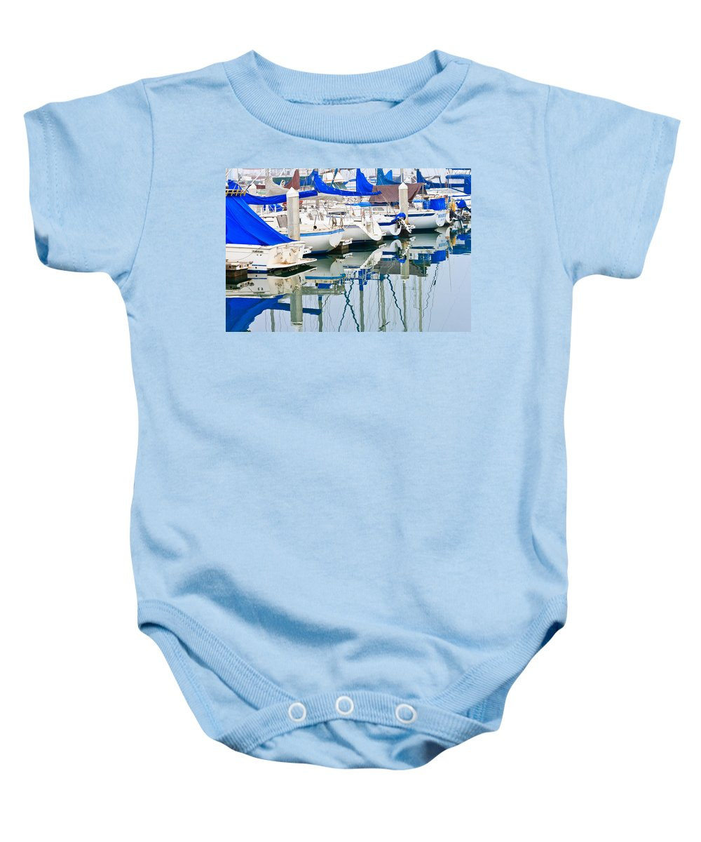 Boats Baby Onesie featuring the photograph Oceanside Harbor 2 by Ben Graham