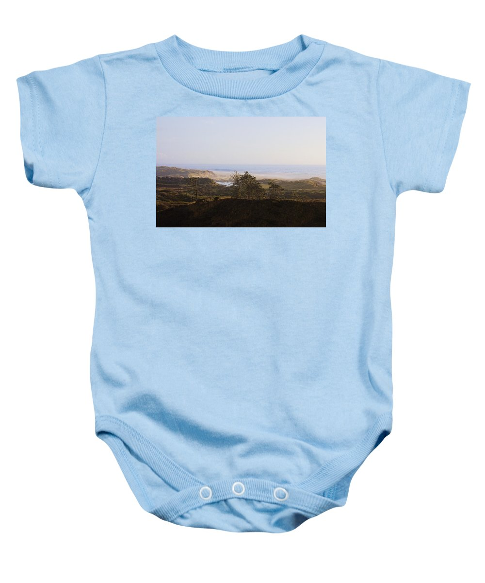 Baby Onesie featuring the photograph Oregon Coast 3 by Cathy Anderson