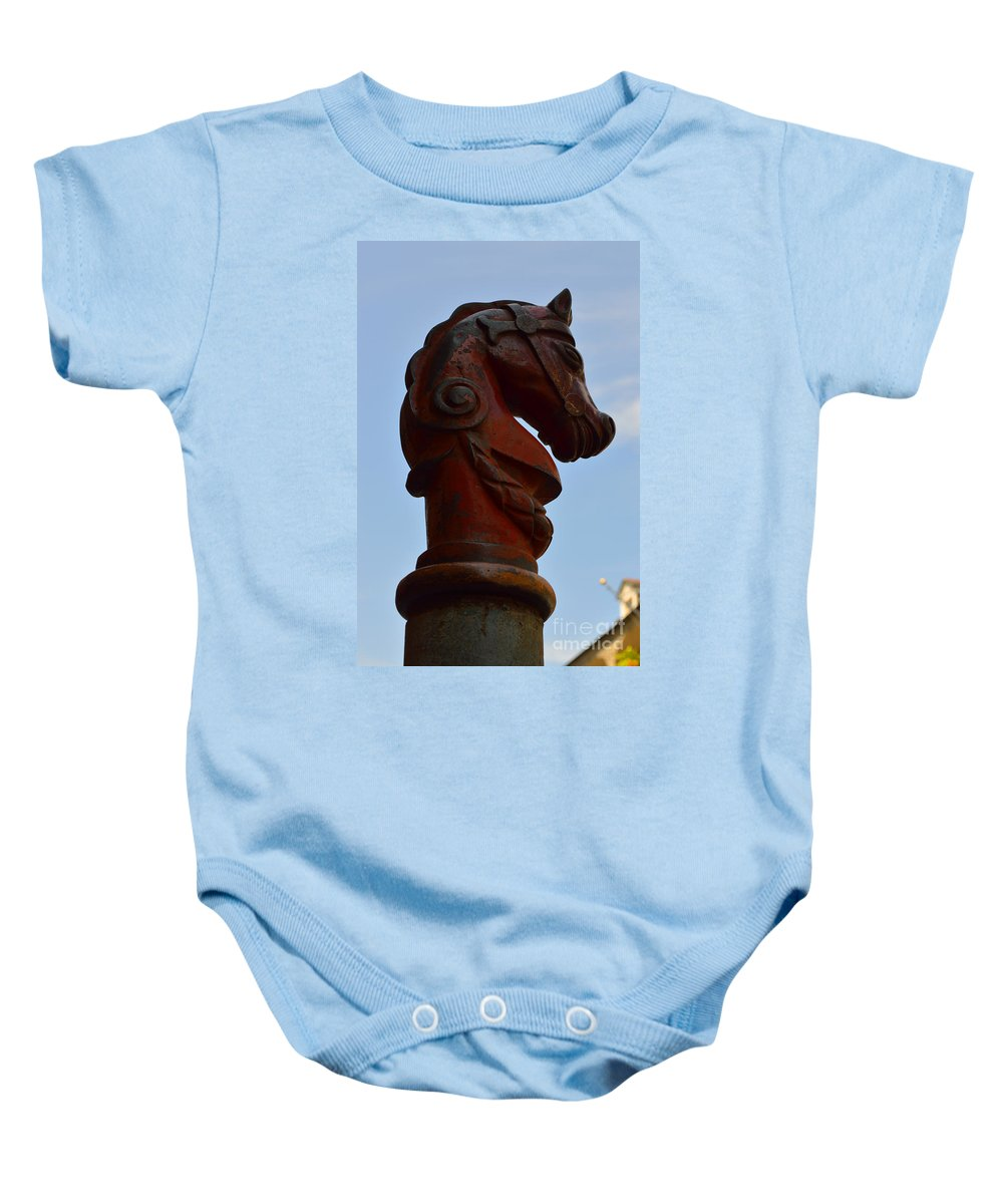 French Quarter Baby Onesie featuring the photograph Perspective 2 by Alys Caviness-Gober