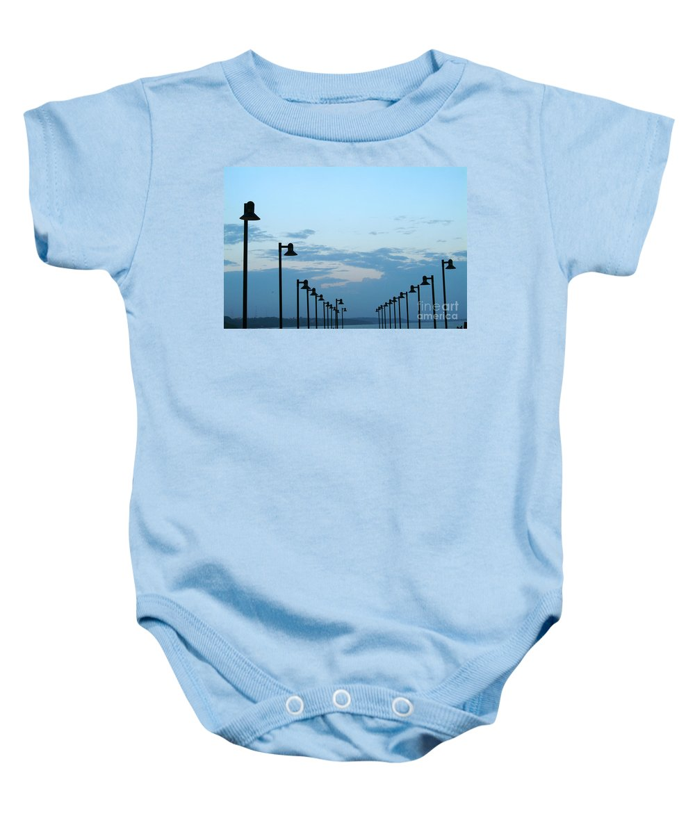 Perspective Baby Onesie featuring the photograph Perspective by Dattaram Gawade