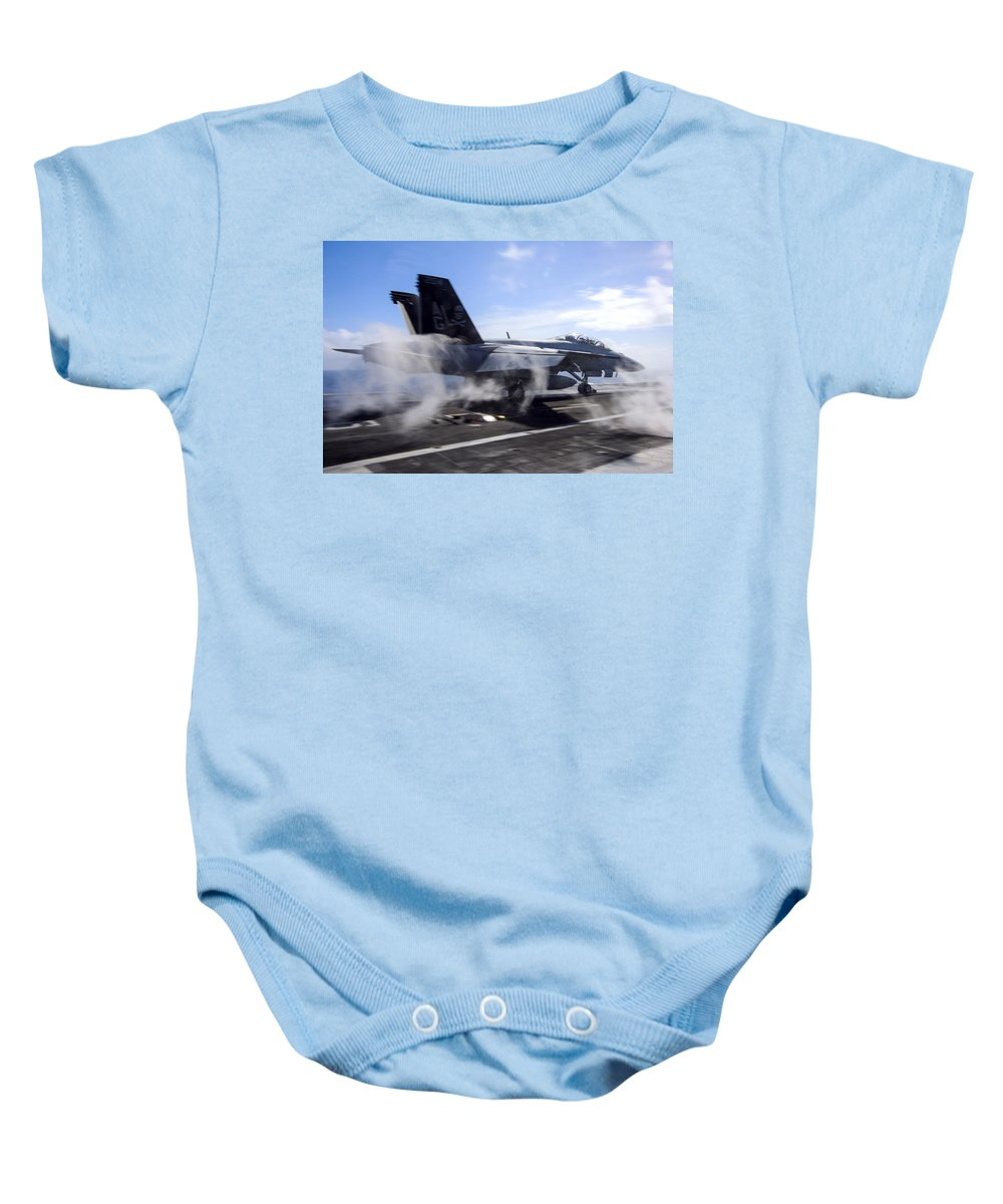 Sky Baby Onesie featuring the photograph Power To Burn by Mountain Dreams