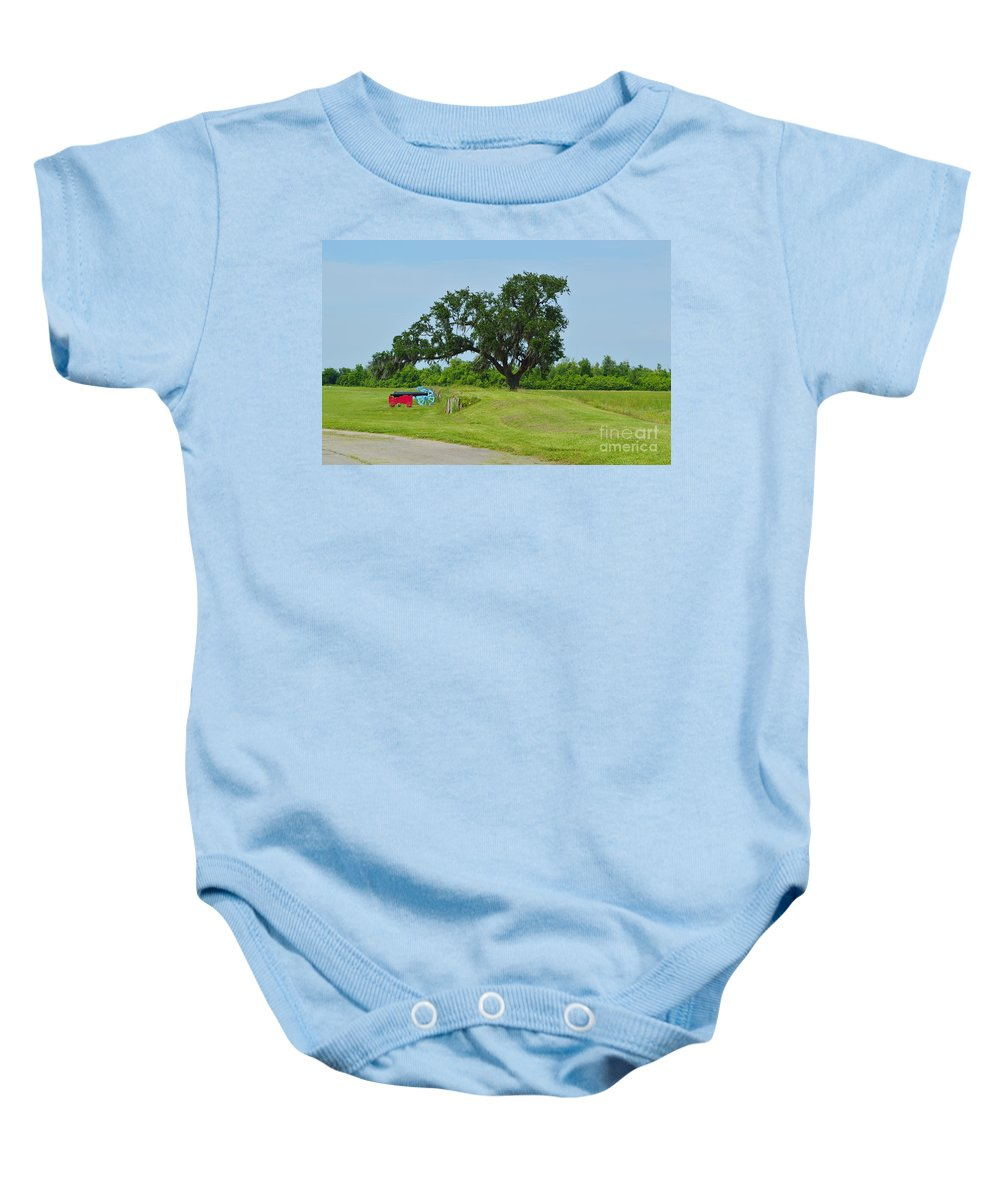 Battle Of New Orleans Baby Onesie featuring the photograph Rest In Peace 1 by Alys Caviness-Gober