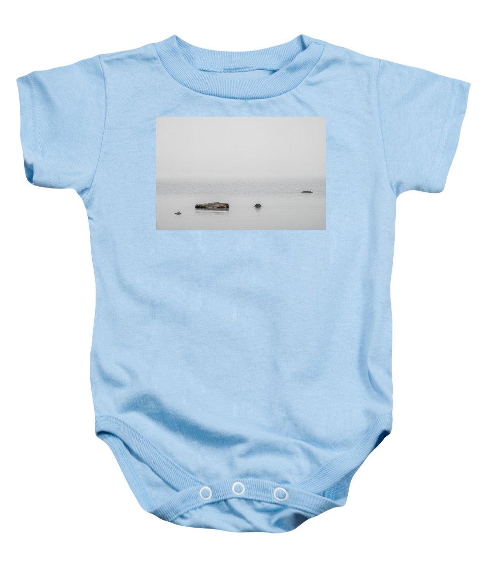 Fine Art Photography Baby Onesie featuring the photograph Ripples by Ludwig Riml