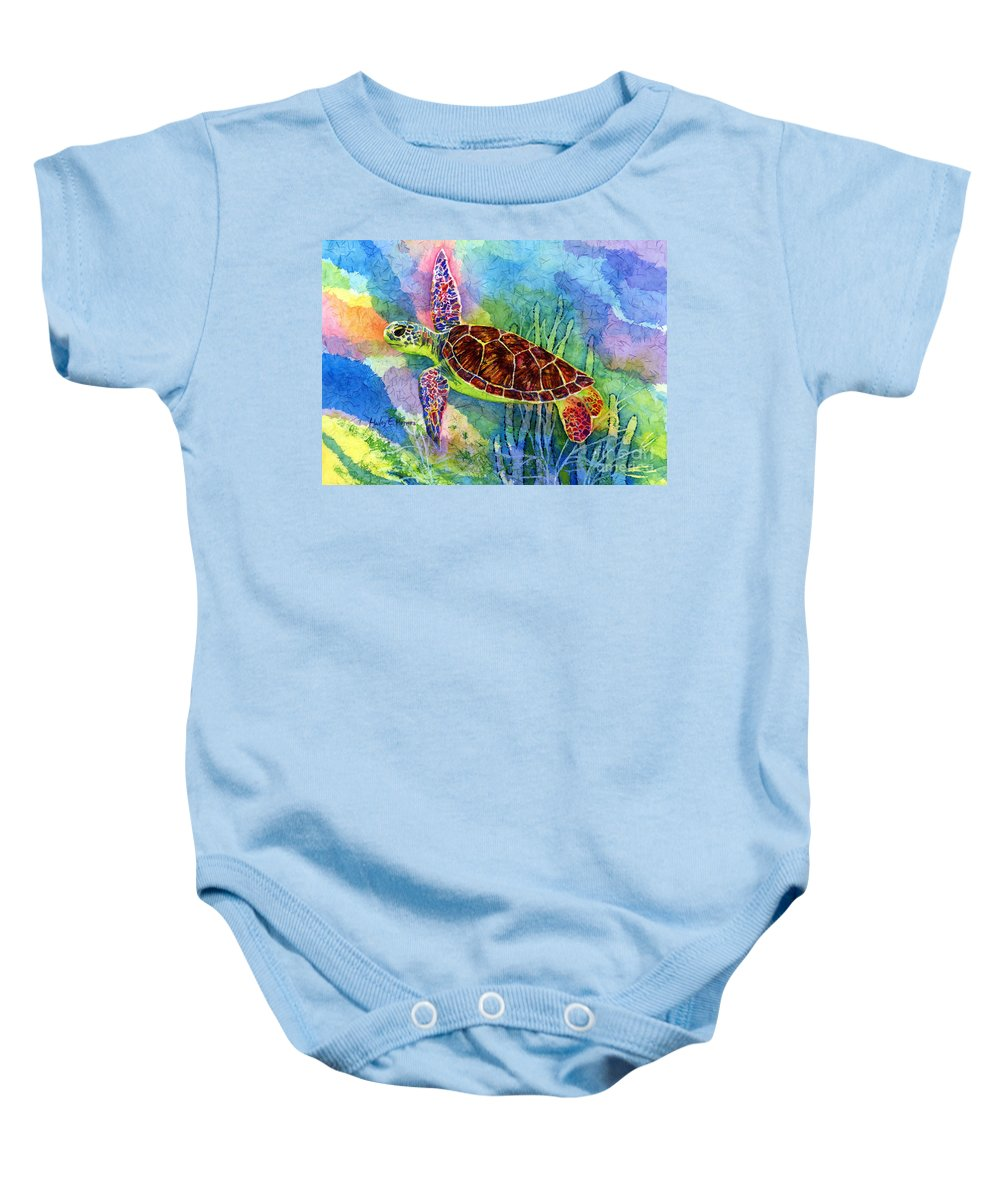 Seascape Paintings Baby Onesies