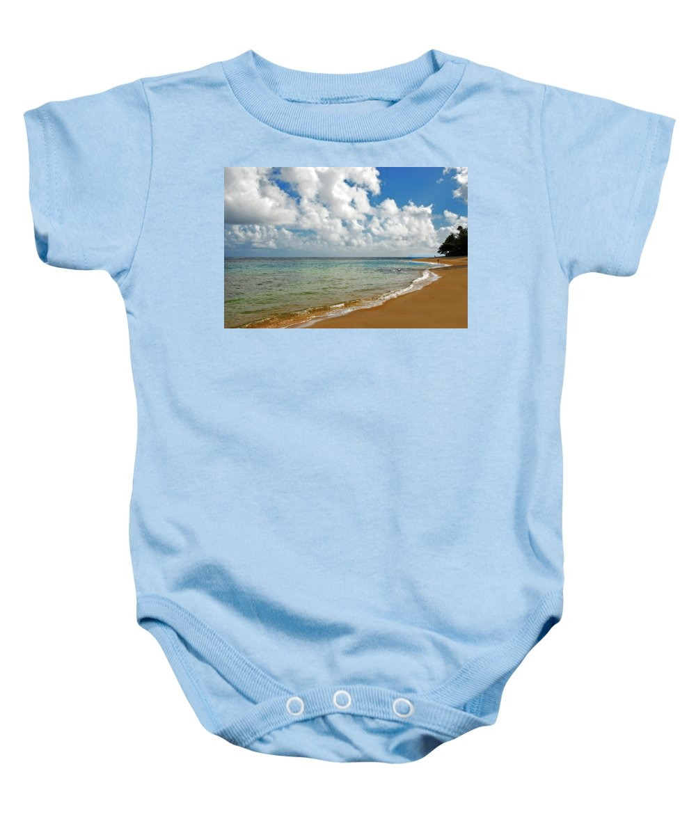 Landscape Baby Onesie featuring the photograph Serenity by Lynn Bauer