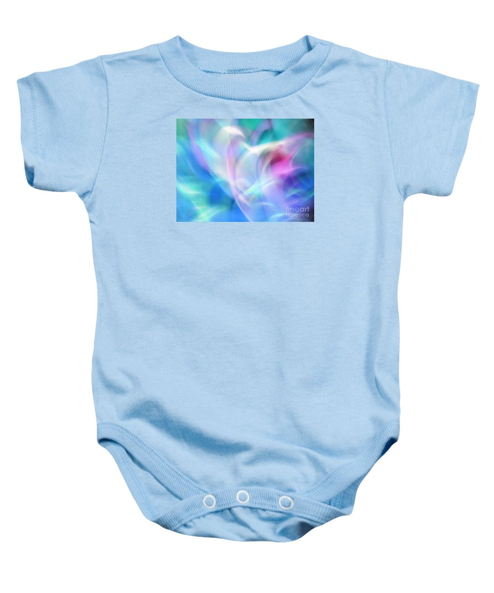 Blossom Baby Onesie featuring the photograph Sheer Ectasy by Marilyn Martin