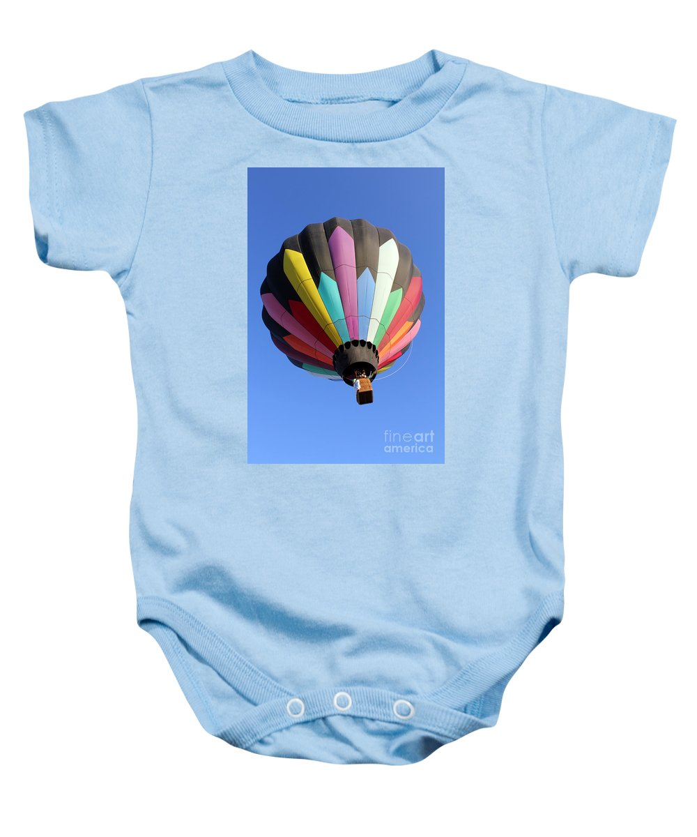 Soaring Baby Onesie featuring the photograph Soaring Diamonds 2 by Alycia Christine
