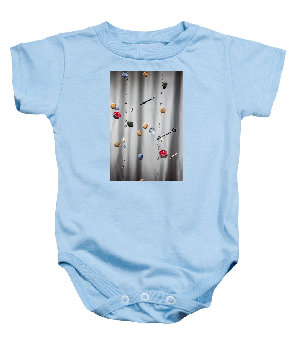 The Five Elements Baby Onesie featuring the photograph The Five Elements by Ernesto Santos