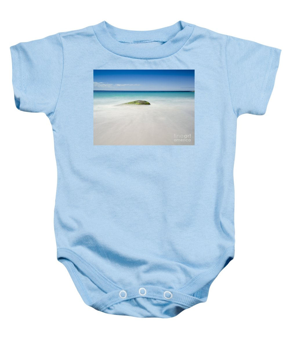 Australia Baby Onesie featuring the photograph The Rock by Paul Woodford