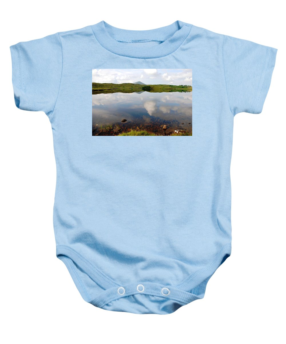 Placid Baby Onesie featuring the photograph The Sky Has Fallen by Charlie and Norma Brock