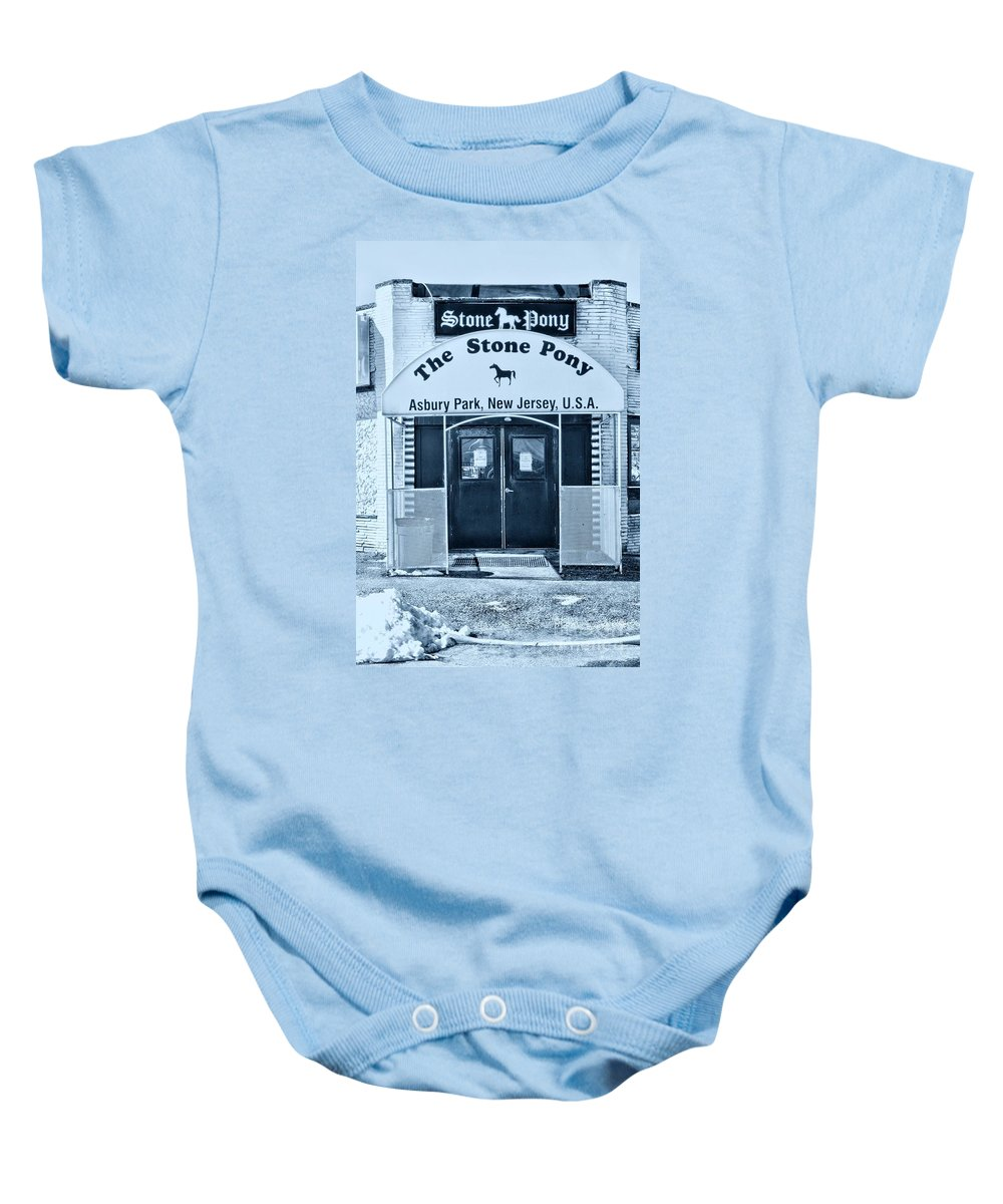 Paul Ward Baby Onesie featuring the photograph The Stone Pony Cool by Paul Ward