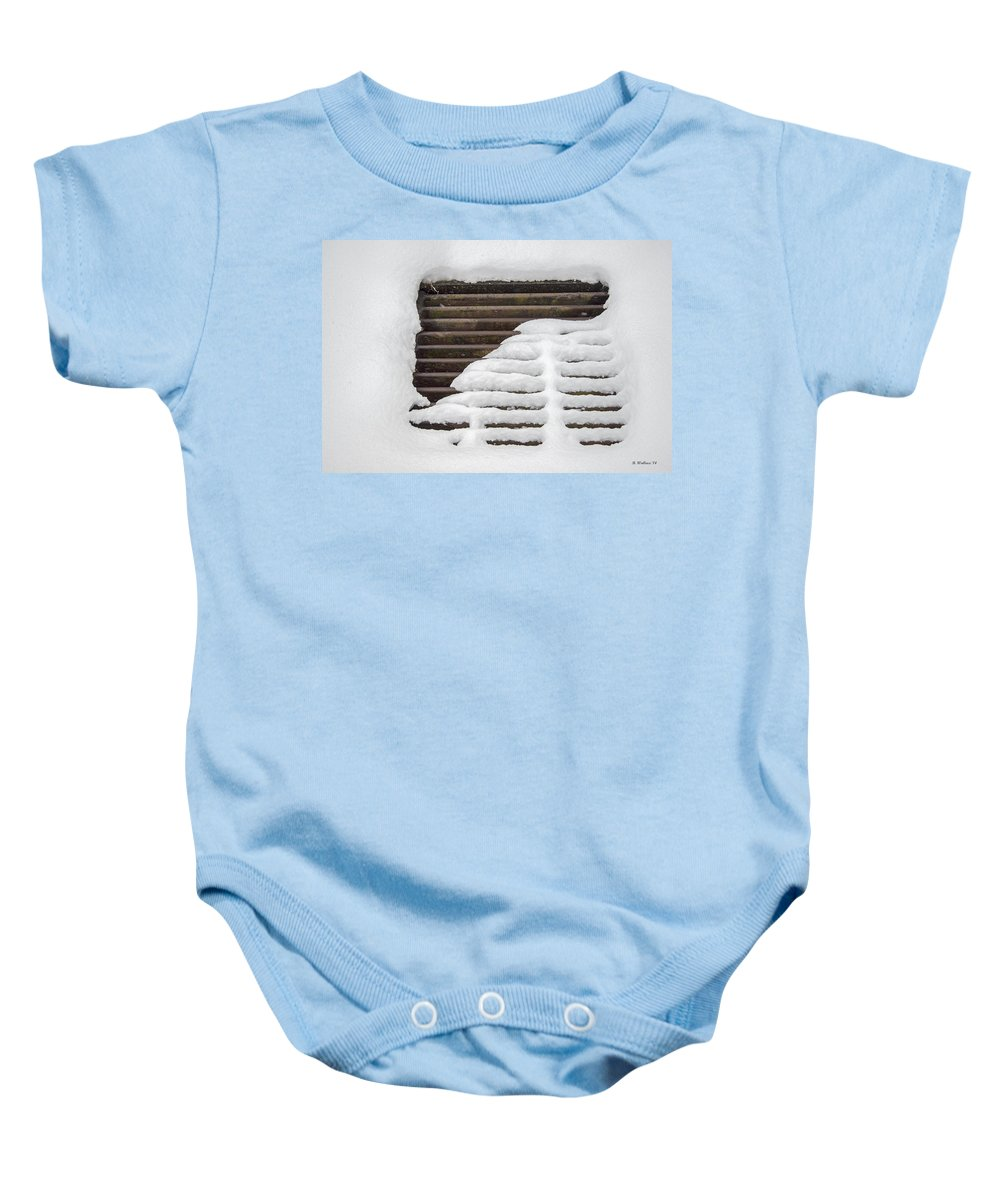 2d Baby Onesie featuring the photograph This Is Just Grate by Brian Wallace
