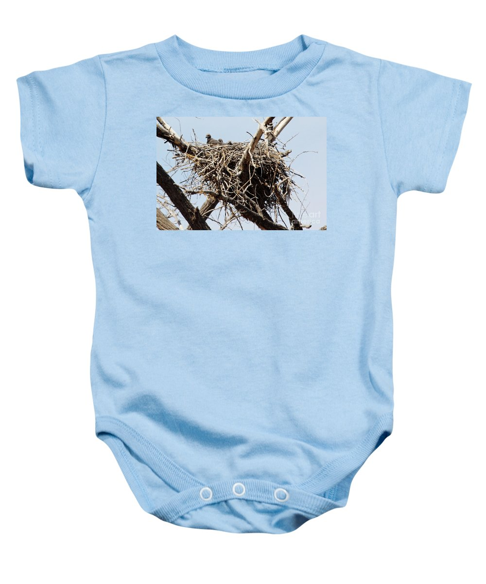 Colorado Baby Onesie featuring the photograph Threesome by Bob Hislop