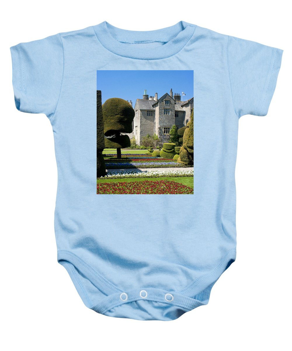 Topiary Baby Onesie featuring the photograph Topiary Garden by Peter Lloyd