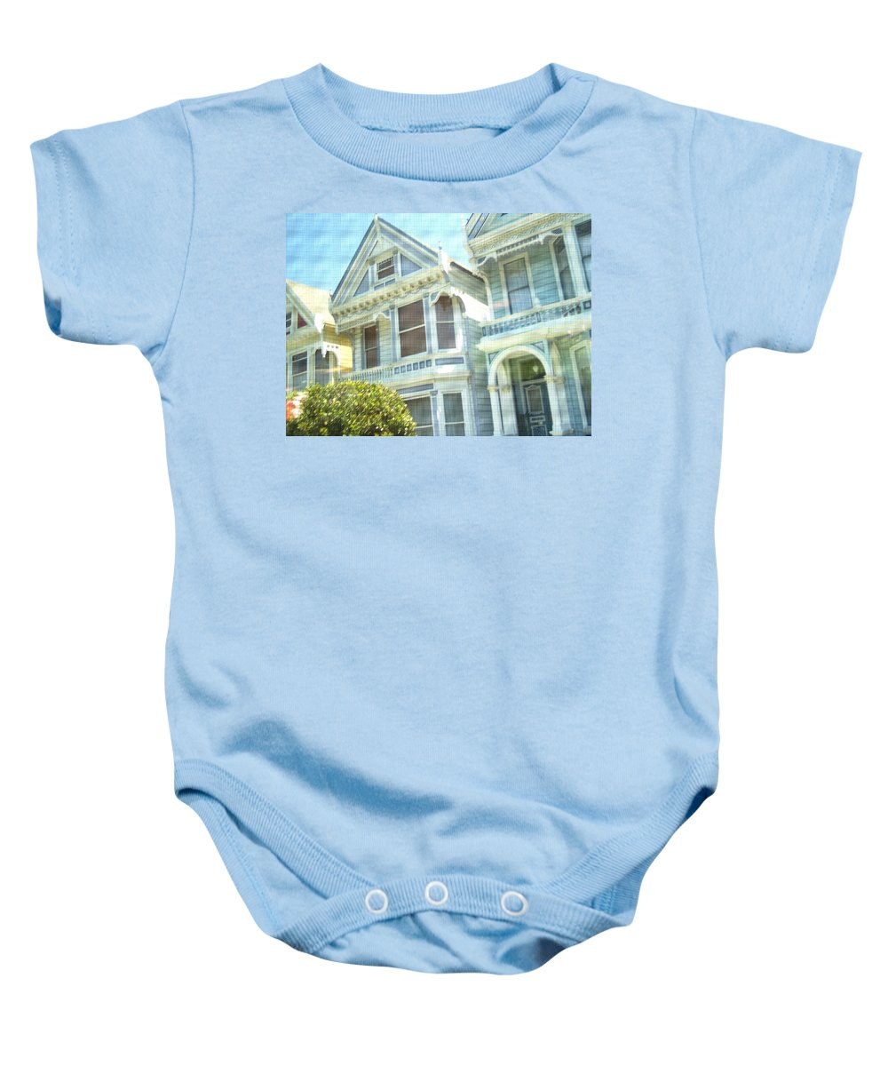 Victorians Baby Onesie featuring the photograph Victorian Cloth by Pharris Art