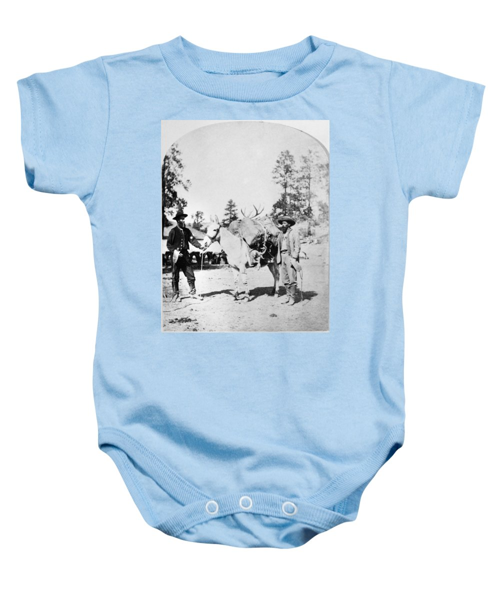 1871 Baby Onesie featuring the photograph Wheeler Ecpedition, 1871 by Granger