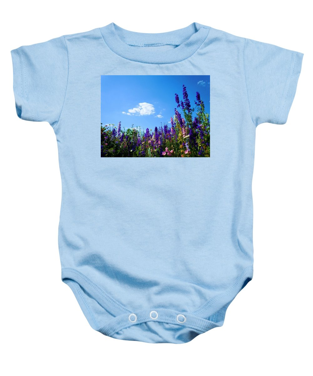 Wildflowers Baby Onesie featuring the photograph Wildflowers #10 by Robert ONeil