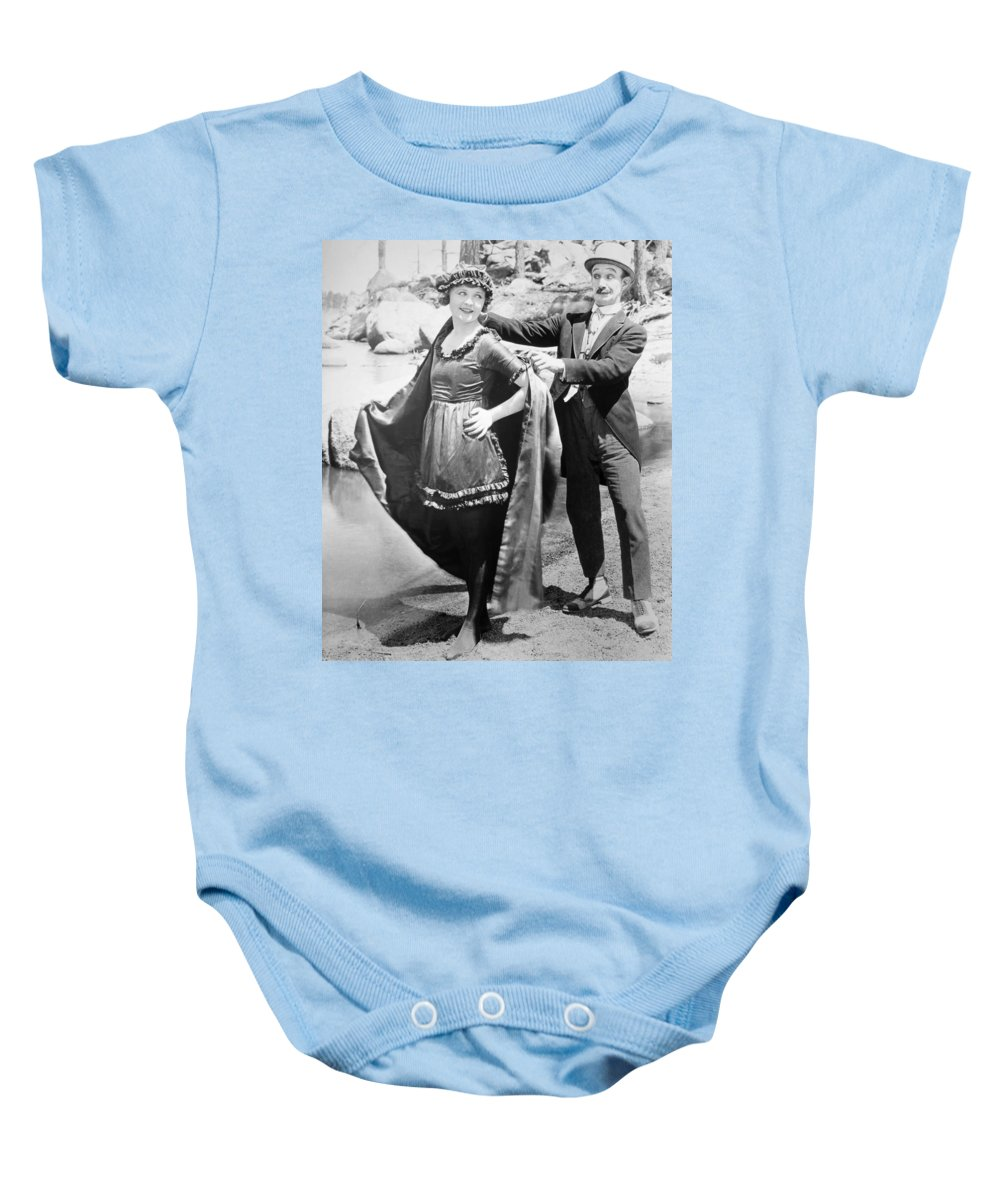 -beaches- Baby Onesie featuring the photograph Film Still: Beach by Granger