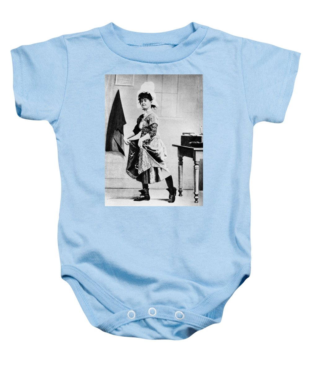 1888 Baby Onesie featuring the photograph Lotta Crabtree (1847-1924) by Granger