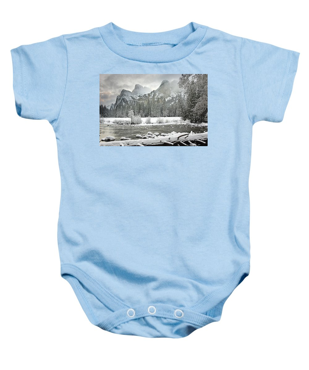 California Baby Onesie featuring the photograph Yosemite National Park, California, Usa by Robert Brown
