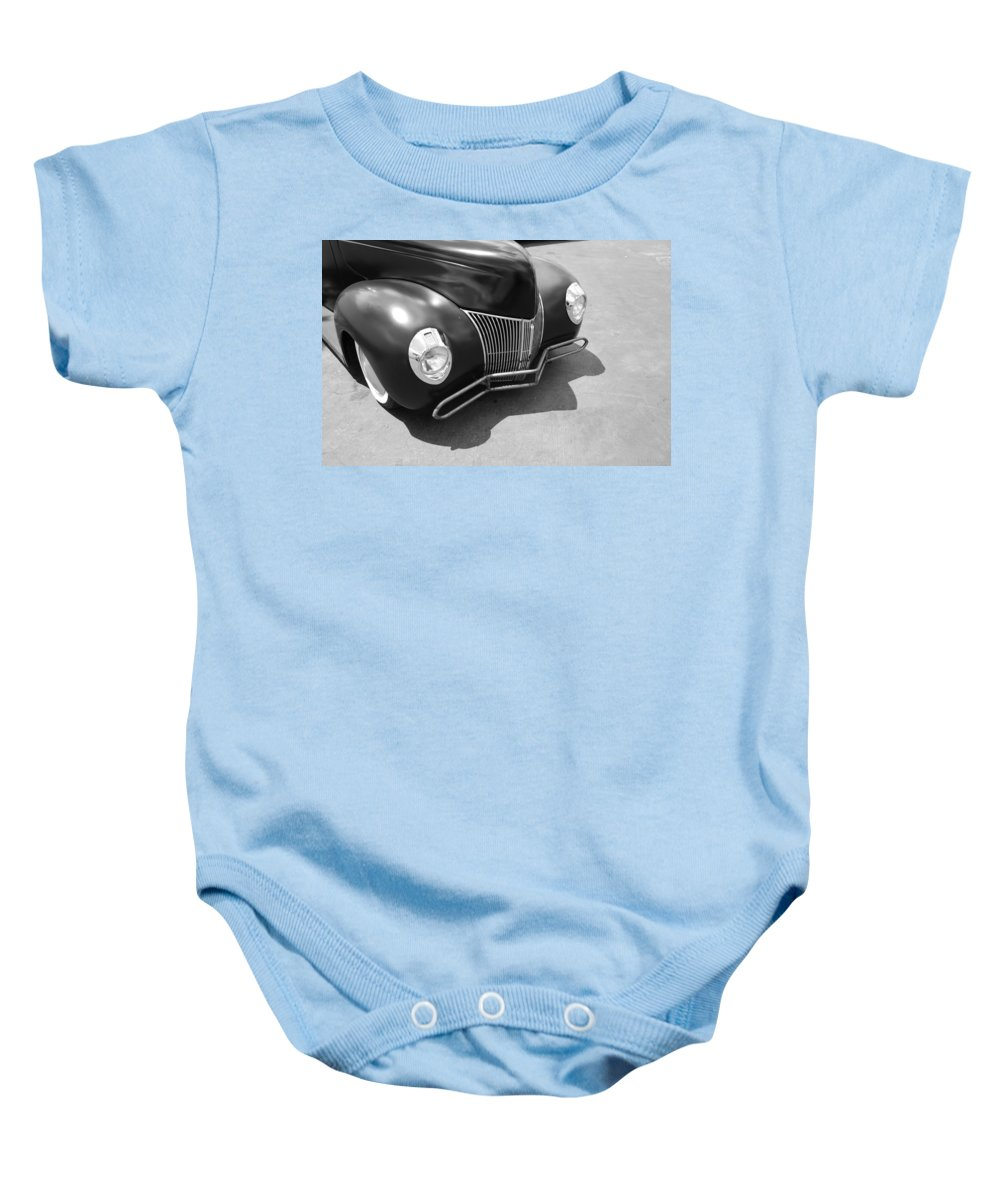 Hot Rod Baby Onesie featuring the photograph Hot Rod Front by Rob Hans
