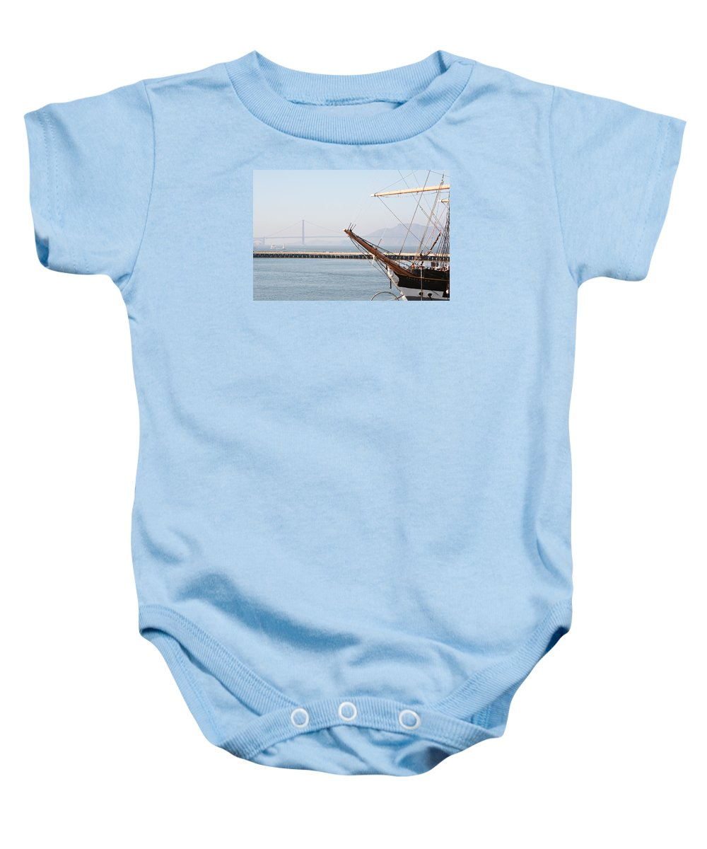San Francisco Baby Onesie featuring the photograph San Francisco by Masha Batkova