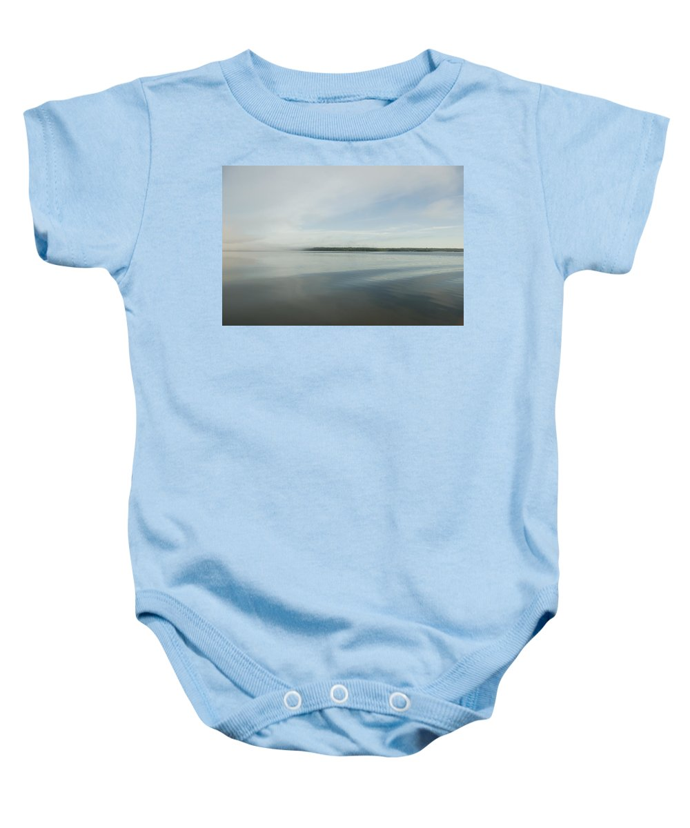 Canadian Baby Onesie featuring the photograph Lake Of The Woods, Ontario, Canada by Keith Levit