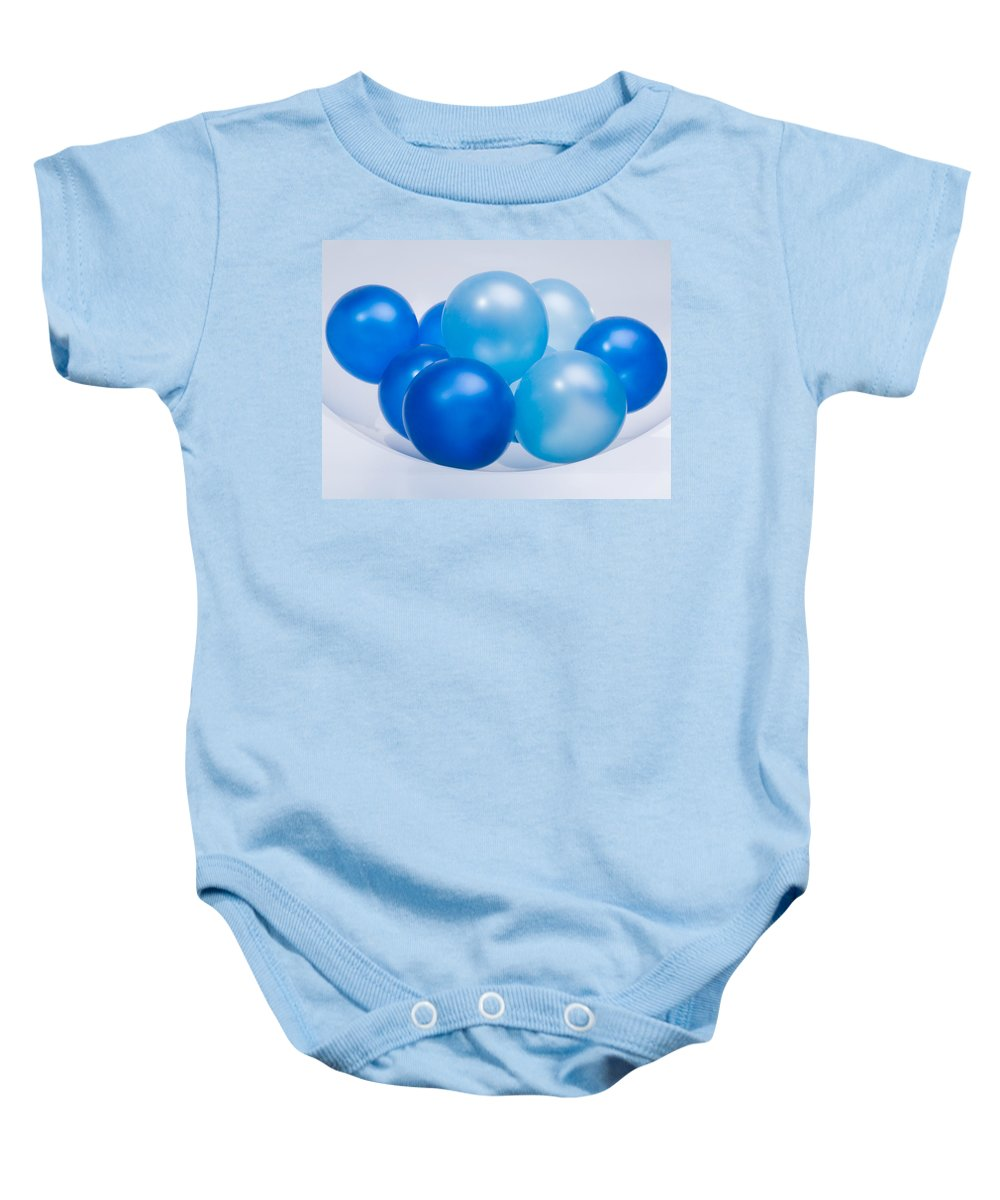 Contrasts Baby Onesie featuring the photograph Abstract Balloon by Setsiri Silapasuwanchai