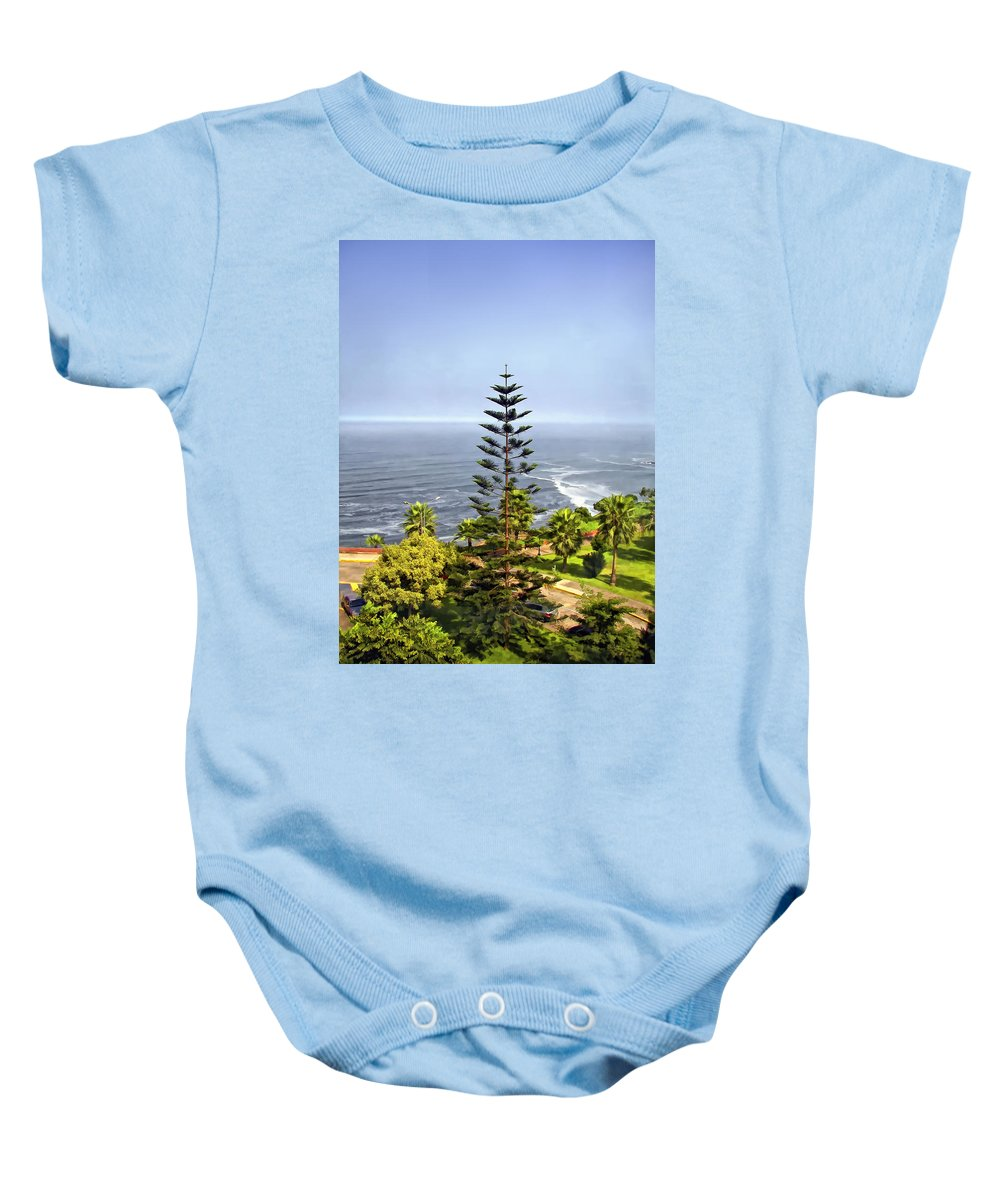 Peru Baby Onesie featuring the photograph Ah...peru by Steve Harrington