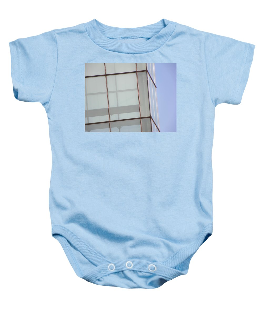 Abstract Baby Onesie featuring the photograph Architecture 9 by Lenore Senior