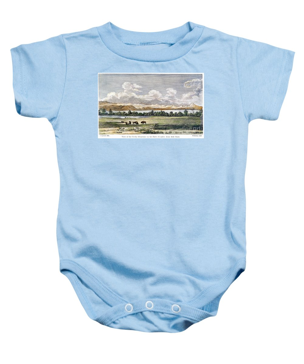 19th Century Baby Onesie featuring the photograph Buffalo, 19th Century by Granger