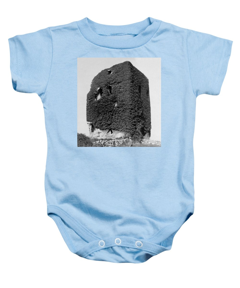 galway Ireland Baby Onesie featuring the photograph Castle Of The O Briens - Ruins - Near Galway Ireland - C 1901 by International Images