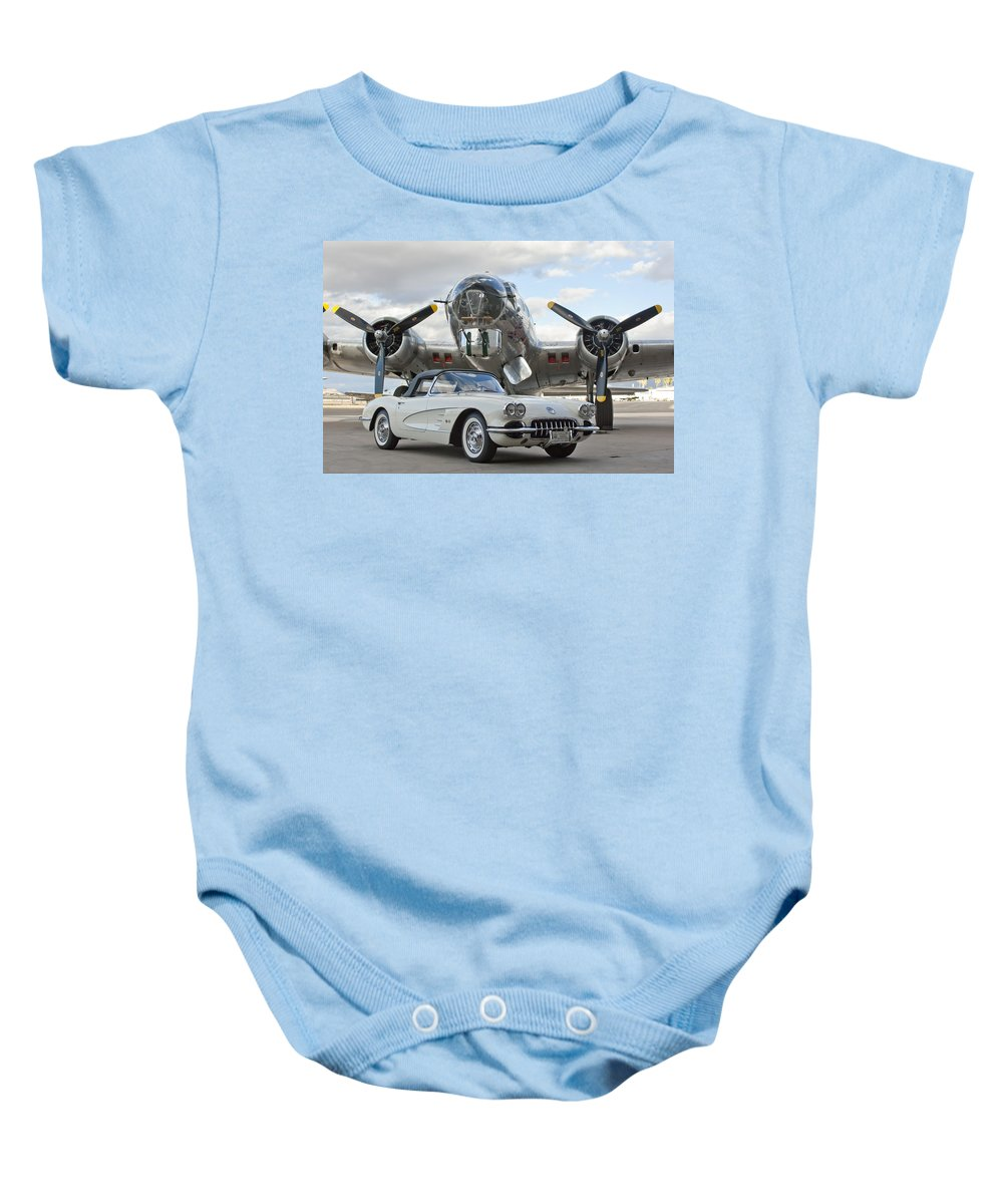 Baby Onesie featuring the photograph Cc 10 by Jill Reger