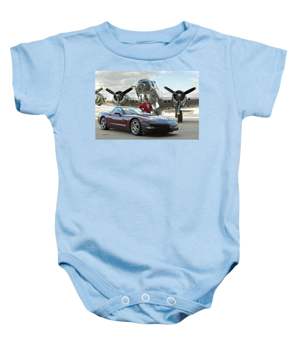 Baby Onesie featuring the photograph Cc 14 by Jill Reger