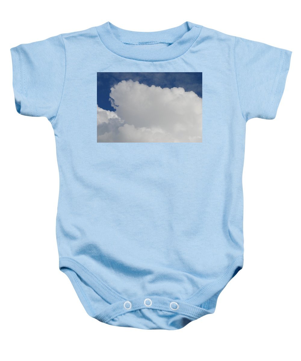Cloud Baby Onesie featuring the photograph Clouds by Michael Merry