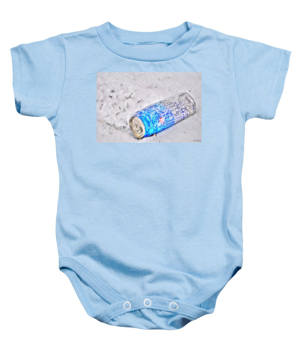 Baby Onesie featuring the photograph Cold One by Michael Frank Jr