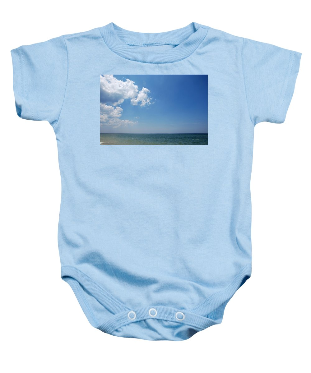 Water Baby Onesie featuring the photograph Gulf Sky by Kay Lovingood