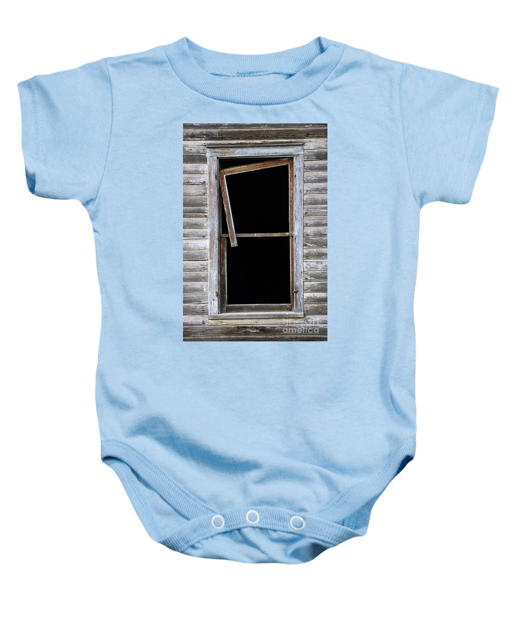 Window Baby Onesie featuring the photograph Hanging Loose by Bob Christopher