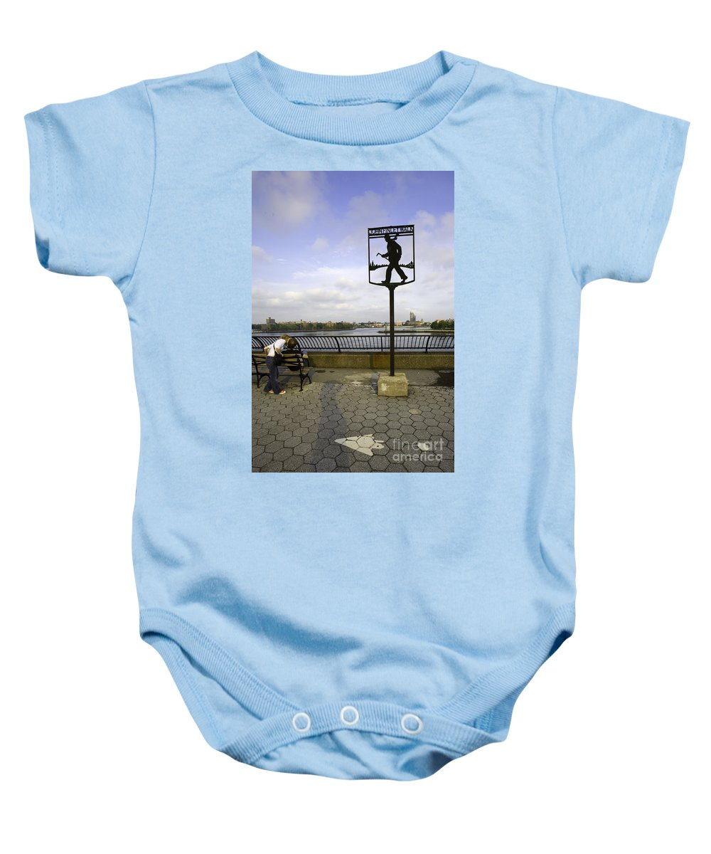 John Finley Walk Baby Onesie featuring the photograph John Finley Walk 1v by Madeline Ellis