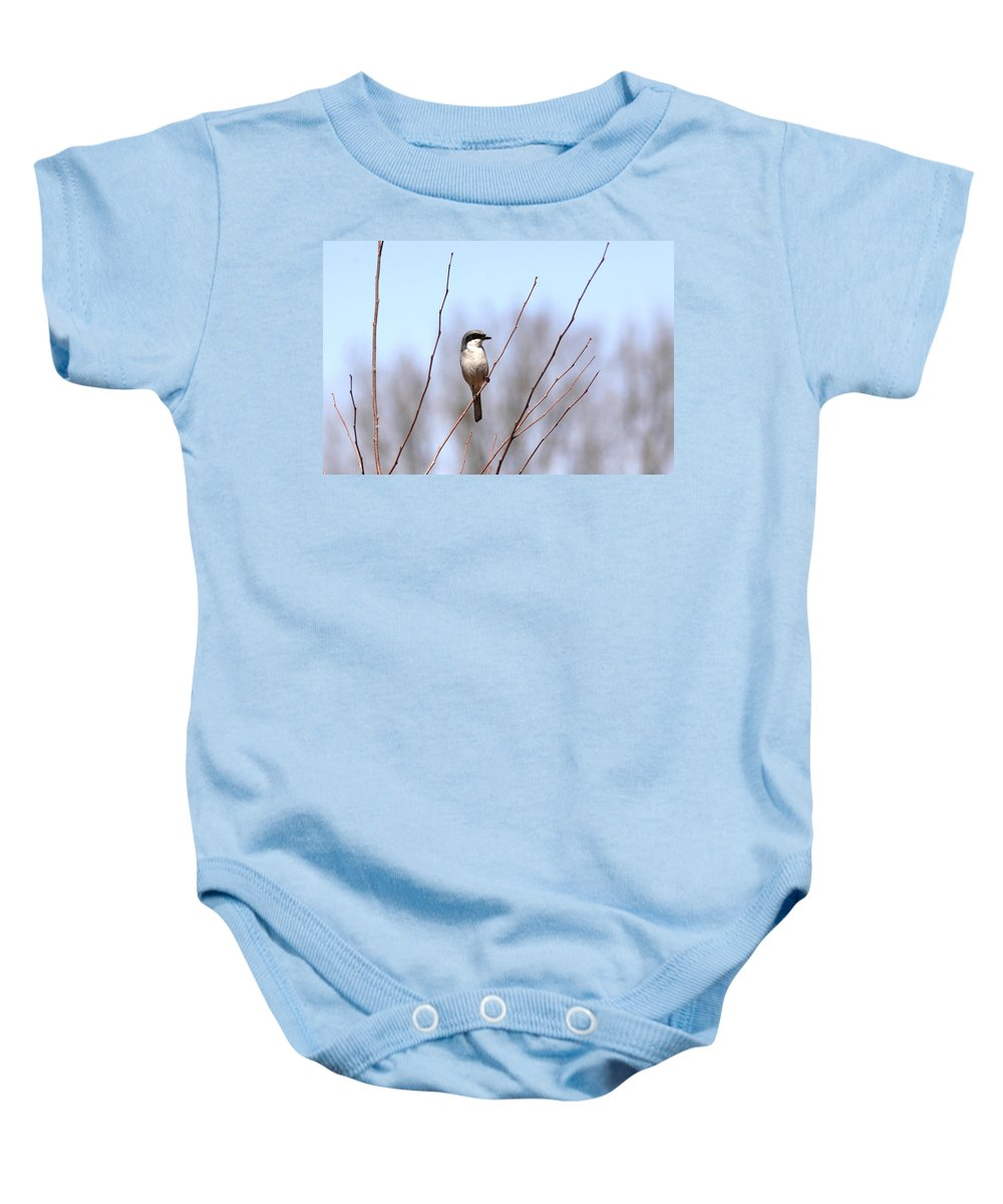 Baby Onesie featuring the photograph Logger by Travis Truelove