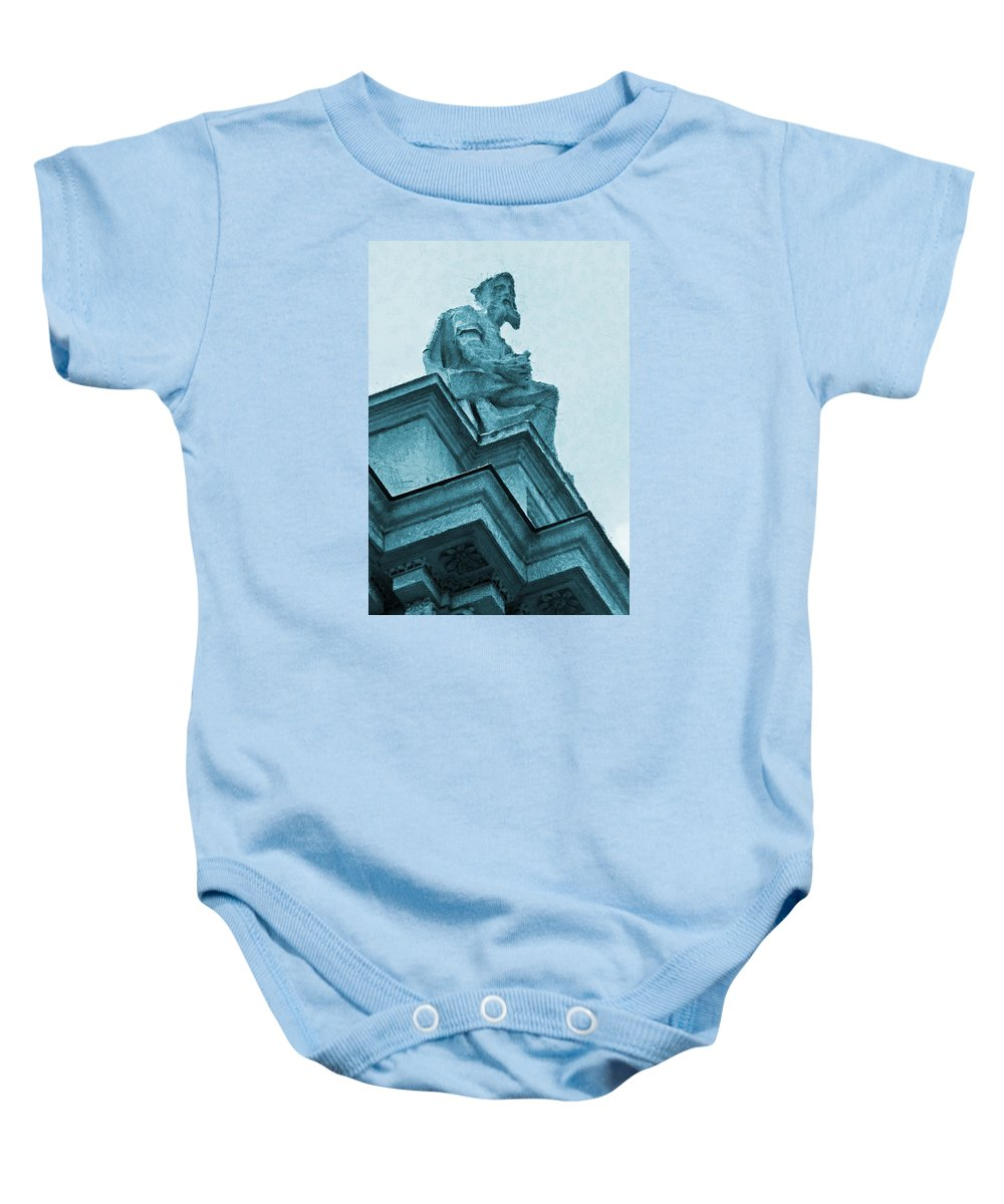 St Pauls Baby Onesie featuring the photograph London Is Never Boring by Steve Taylor