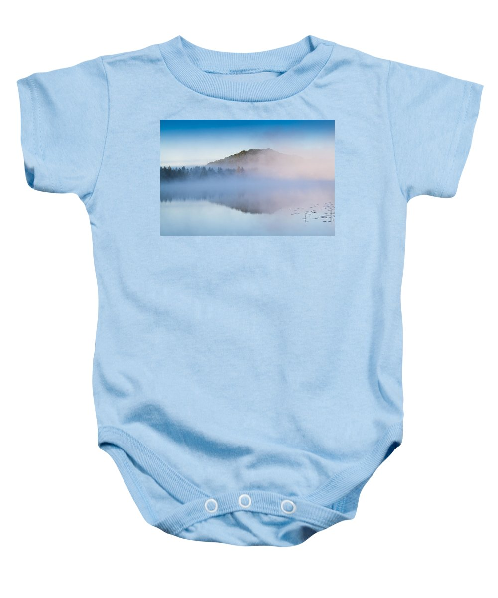 America Baby Onesie featuring the photograph Magic Morning by Mircea Costina Photography