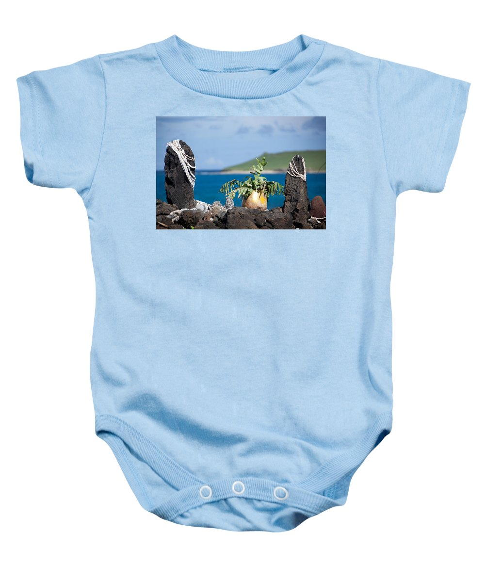 Shell Baby Onesie featuring the photograph Magic Place by Ralf Kaiser
