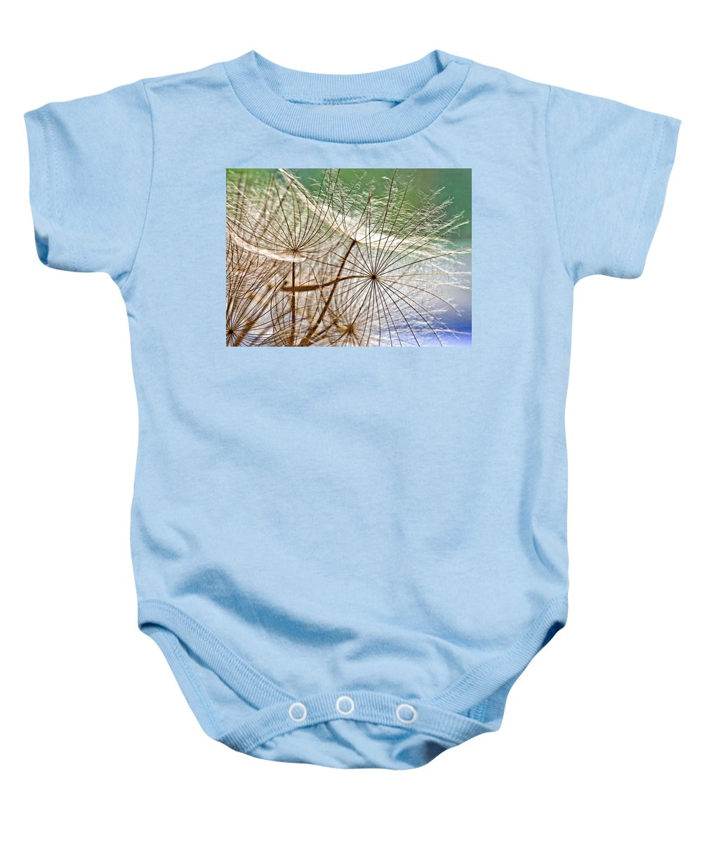 Weed Baby Onesie featuring the photograph Matrix 2 by Steve Harrington