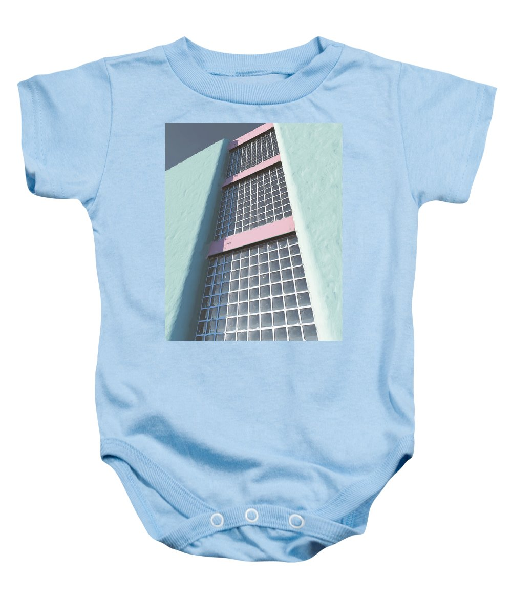 Multiple Stories Baby Onesie featuring the digital art Multiple Stories by Richard Rizzo