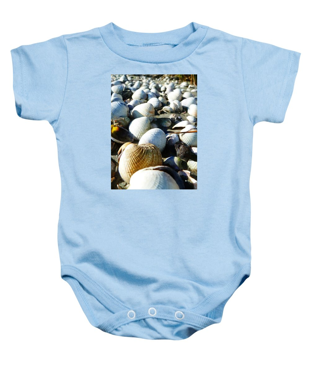 Muscle Beach Baby Onesie featuring the photograph Muscle Beach by Steve Taylor