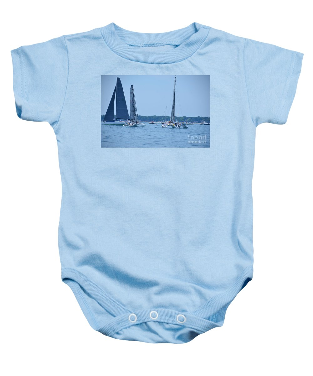 Natalie J Baby Onesie featuring the photograph Natalie J by Randy J Heath