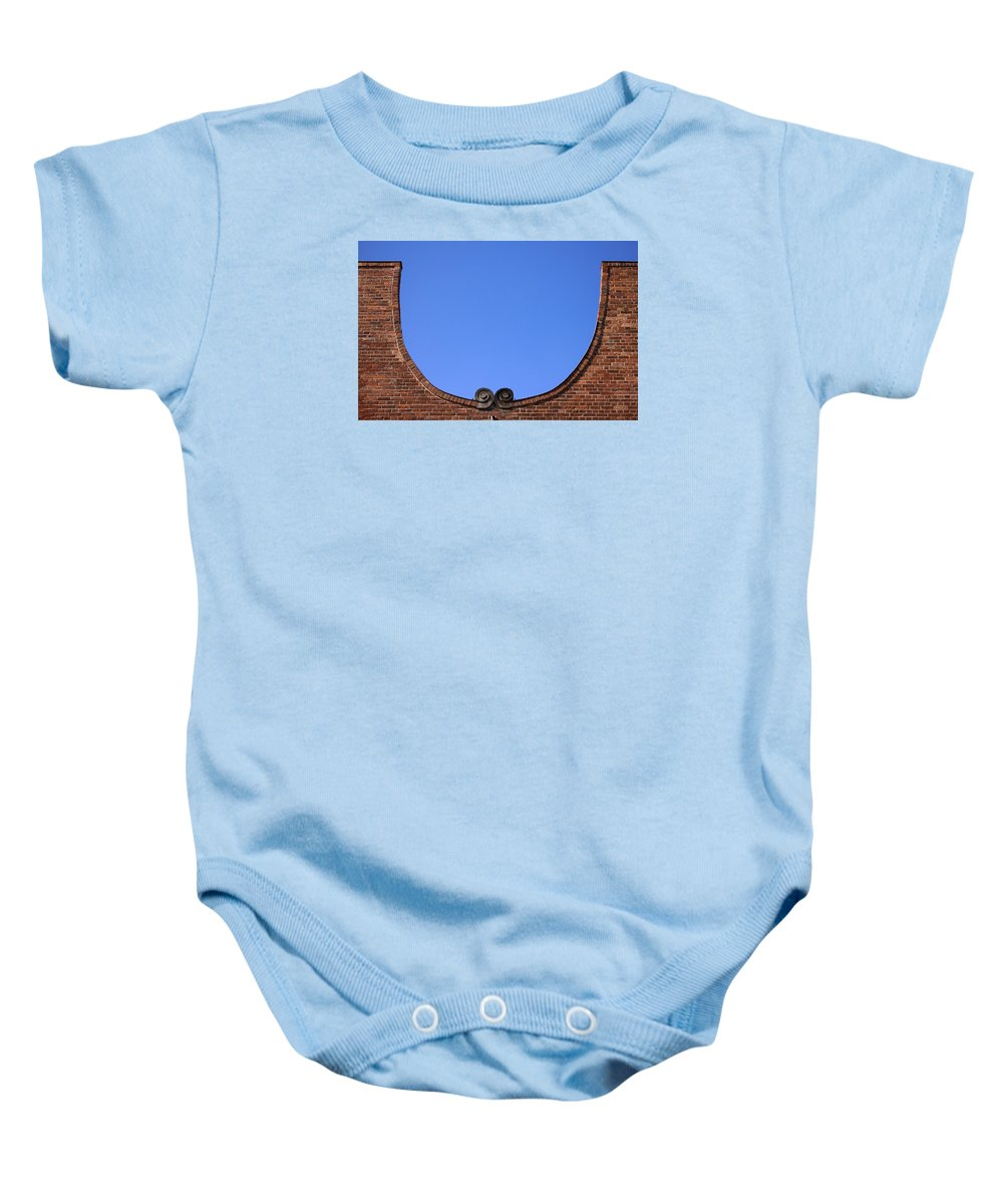 Dutch Neighborhood Baby Onesie featuring the photograph Omega by RicardMN Photography