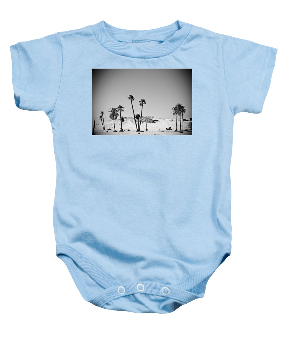 African Baby Onesie featuring the photograph Palm Trees In The Sahara Desert by David DuChemin