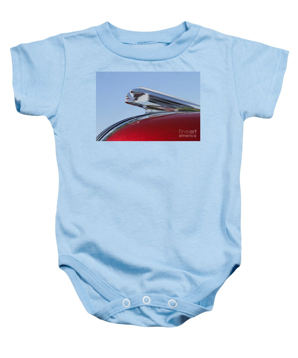 Classic Baby Onesie featuring the photograph Pontiac Chief by Dennis Hedberg